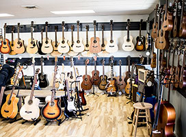 Jimmy's Music Store in Durango